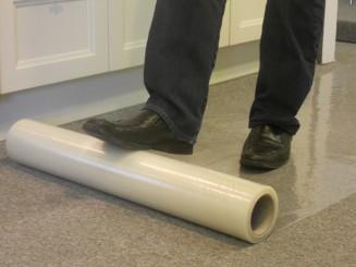Kick & Stick beschermfolie voor tapijt 70 cm x 60 m
