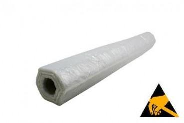 Antistatische folie transparant 4 m x 50 m, 30 µ