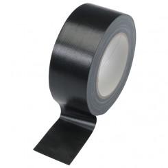 Zwarte Linnen Tape 50 mm x 25 m