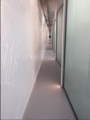Dikke witte lichtdoorlatende bouwfolie 3 m x 38 m, 140 µ