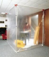 Antistatische folie transparant 4 m x 50 m, 80 µ