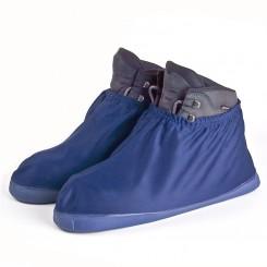 Premium overschoen met waterdichte rubber zool