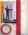 ZipDoor brandveilige stofdeur herbruikbaar 1.20 m x 2.40 m