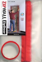 ZipDoor herbruikbare stofdeur 1.20 m x 2.30 m