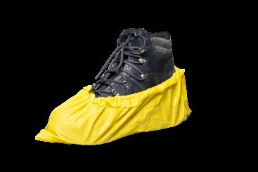 Poly Yellow 75 micron dikke,  veilige antislip overschoenen