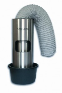 Airclean set inclusief slang en kuip