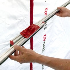 Foam Rail aansluitprofiel, uitschuifbaar van 1,30-2,40 m