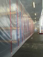 Antistatische folie transparant 6 m x 25 m, 100 µ