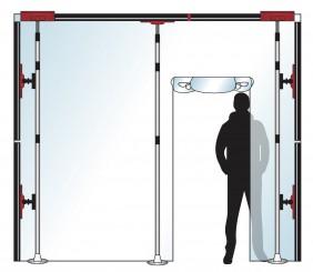 Stofscherm ZipScreen 3 PLUS variabele breedte tot 3 m