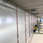 ZipWall stofwand PSV Eindhoven